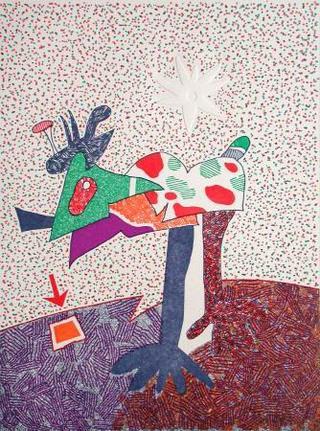 Oiseau by Otmar Alt