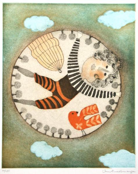 La Cage et L'oiseau by Christine Amarger