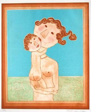 Femme et Enfant by Christine Amarger