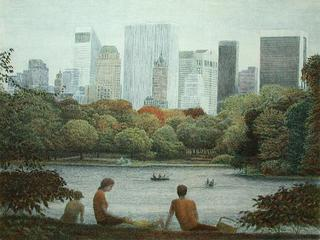 Central Park, a Family by Harold Altman