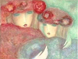 Deux Amies by Claire Astaix