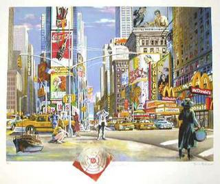 Manhattan I by Daniel Authouart