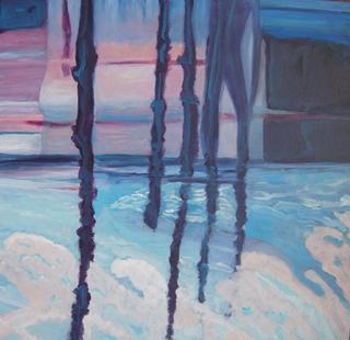 Dusk Reflection by Mania Row