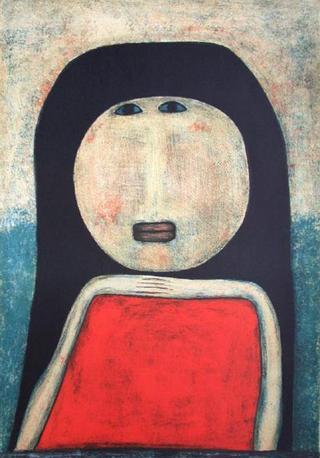 Femme Marocaine by Farid Belkahia