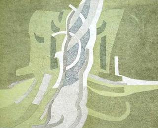 Composition V by André Beaudin