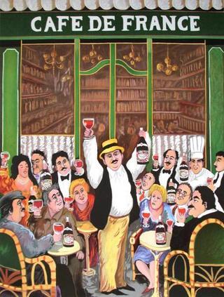 Café de France by Guy Buffet