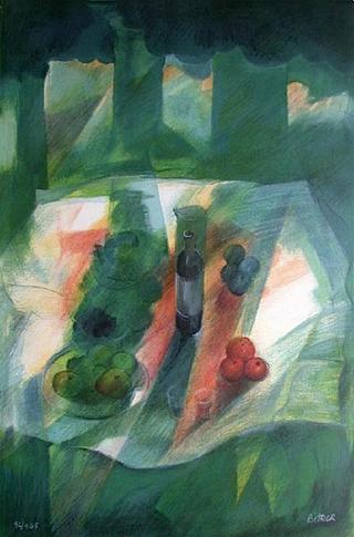 Déjeuner sur l'herbe 3 by Colette Bitker