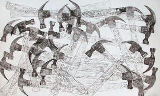 Les Marteaux by Arman