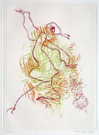 Par dessus les Moulins by Max Ernst