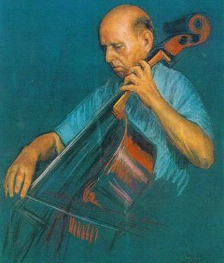 Pablo Casals by Rafael Serrano Muñoz