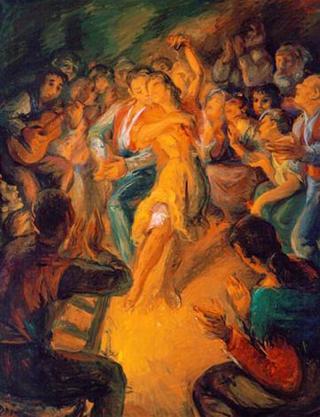 Candil´s Dancing by Rafael Serrano Muñoz