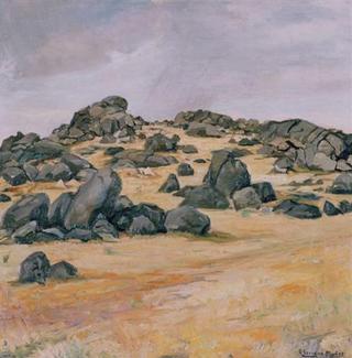 El Escorial Stones by Rafael Serrano Muñoz