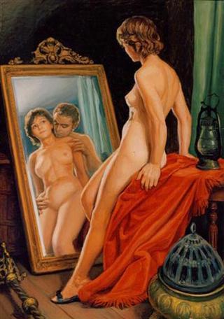 Magic Mirror by Rafael Serrano Muñoz