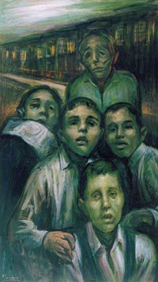 Hospice Boys by Rafael Serrano Muñoz