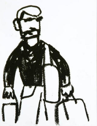 Travelling Person Note by Javier Mariscal