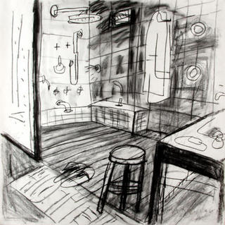 Bathroom Interior Shower by Javier Mariscal