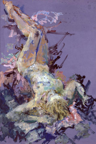 The Leap into The Blue by Natasha Rosenbaum