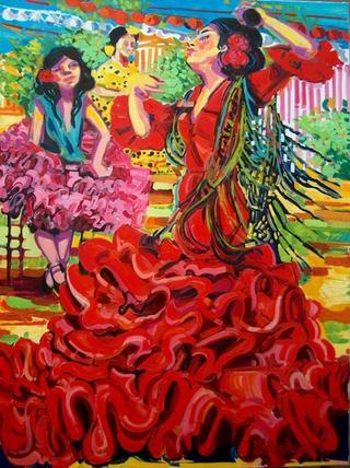 Il Flamenco e un Canto Disperato by Katya Andreeva