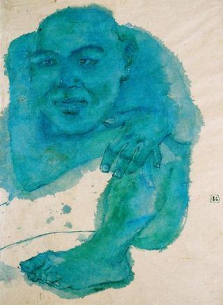 Mr Blue by Trinh Minh Tien