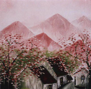 Mountain Street in the Beauty of  Spring by Pham Kien Giang