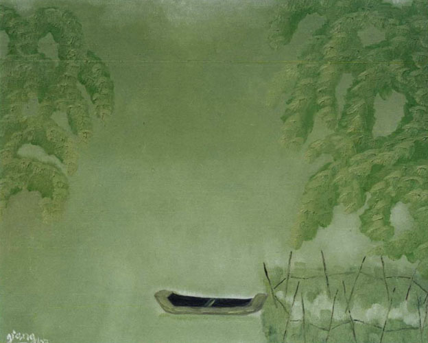 One Bamboo Boat by Pham Kien Giang