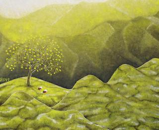 Plucking Tea Leaves by Pham Kien Giang