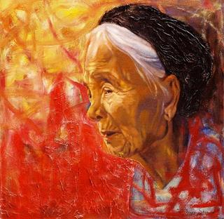 Portrait 1 by Tran Trung Son