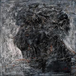 Self-Portrait in Ash Grey by Tran Trung Son