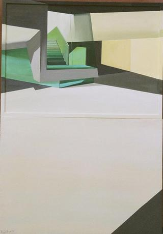 Silent, Geometric, Very Green Construction by Tatiana Blanqué