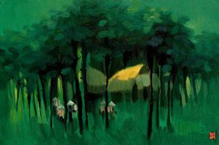 Phu Tho Palm Trees by Nguyen To Ngoc