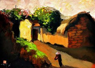 The Ancient Duong Lam Village 4 by Nguyen To Ngoc