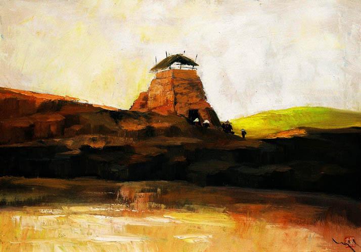 The Brick Kiln 2 by Nguyen To Ngoc