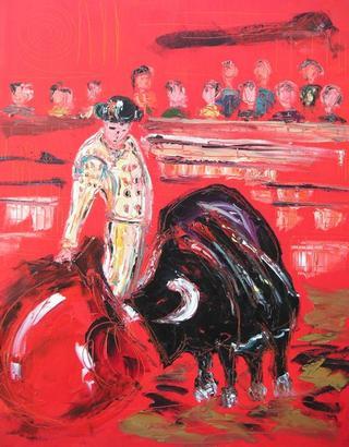 Bullfighting II by Uceda