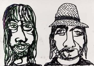 Johan & Antonio by Javier Mariscal