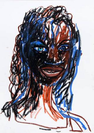 Chica Negra Mulatona by Javier Mariscal