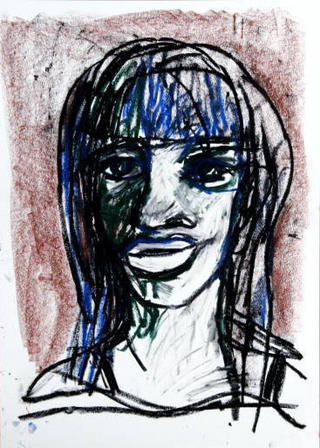Chica Blanca Travestona by Javier Mariscal