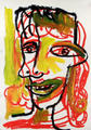 Anitbes. Cubist Portrait Picassin' Style by Javier Mariscal