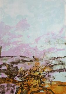Composition 392 by Zao Wou-Ki