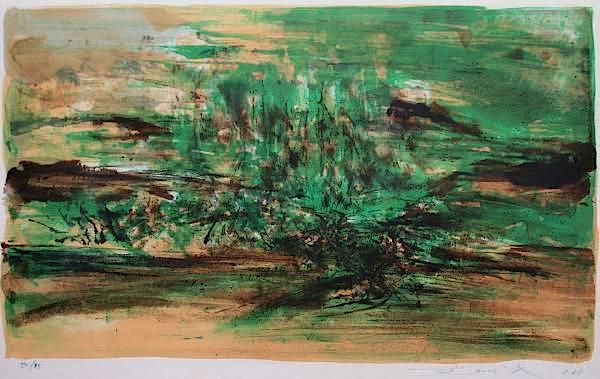 Composition 156 Original Art By Zao Wou Ki Picassomio
