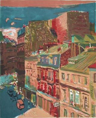 Rue de Paris by Yim Jik-Soon