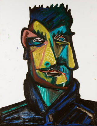 Felix Cabrera. Cubist Portrait Picassin' Style by Javier Mariscal