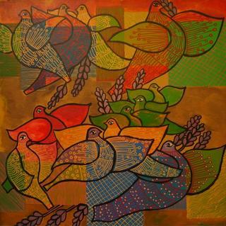 Doves Series: The Loom of the Dreams by Enrique Bustamante