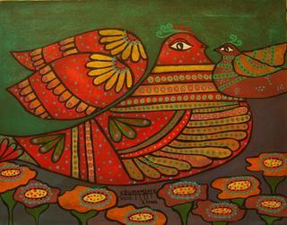 Doves Series: Motherhood by Enrique Bustamante
