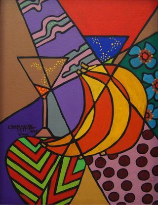 Fragmentus  Series: Banana´s Coctel by Enrique Bustamante