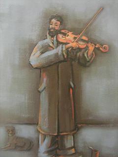 Violinist by Juan O. Perez