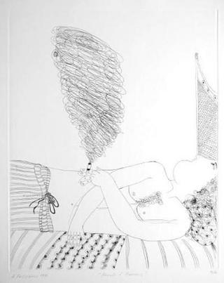 Réveil d'Adonis by Alexandre Fassianos