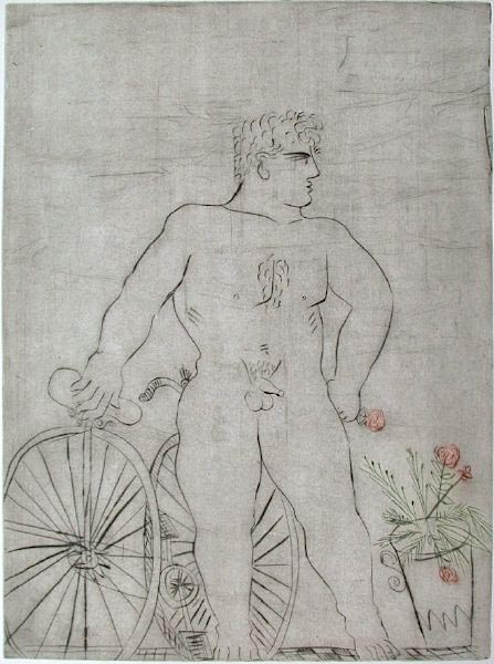 Cycliste Fier by Alexandre Fassianos