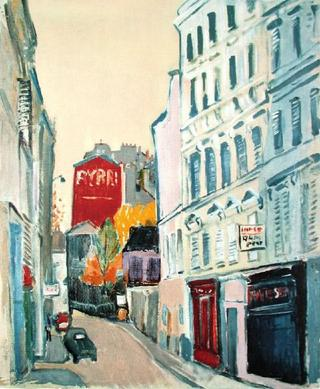 Rue de Paris by Yoshio Chang