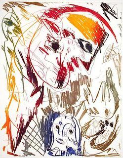 La Gardienne by Carl-Henning Pedersen