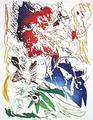 L'oiseau Bleu by Carl-Henning Pedersen